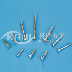 The non-sign has custom-made--Stainless steel thick pole half tooth bolt